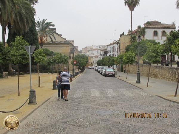 по пути в Алькасар