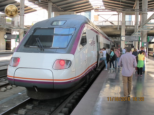 поезд в Севилью