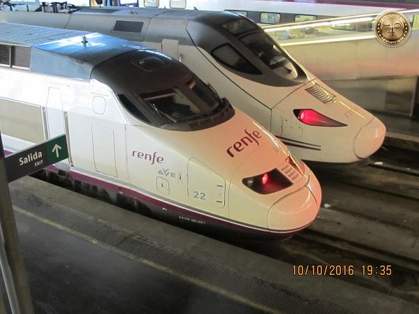 испанские поезда
