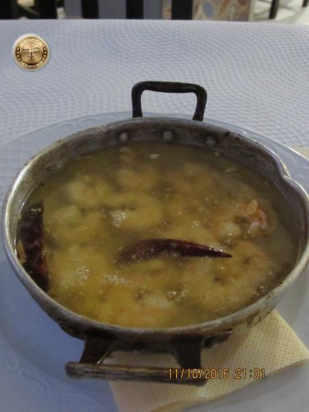 суп из креветок в Севилье