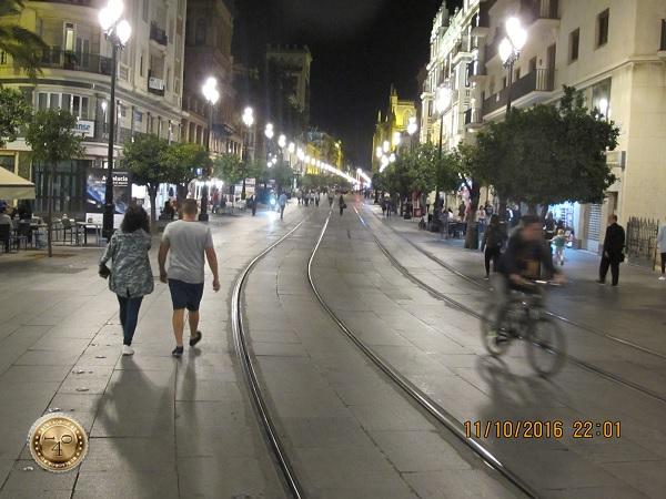 вечером в Севилье