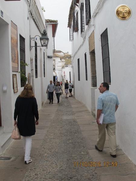 еврейская улица в Кордобе
