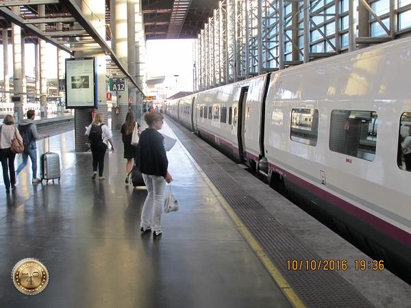 испанские вагоны