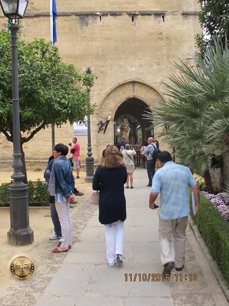 вход в Алькасар