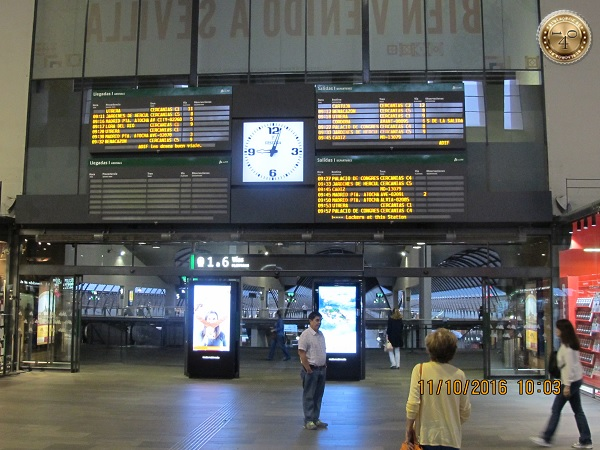 вокзал в Севилье