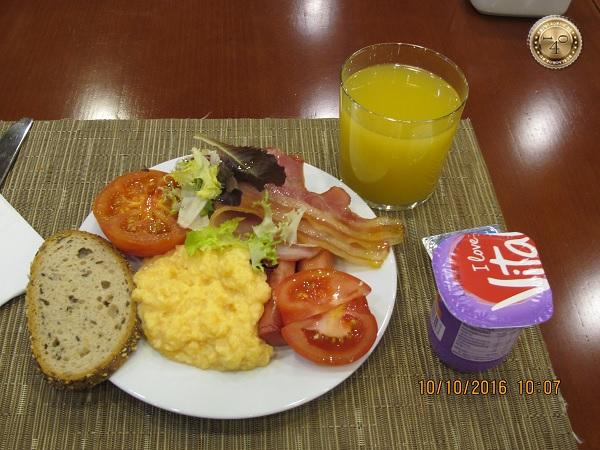 завтрак туриста
