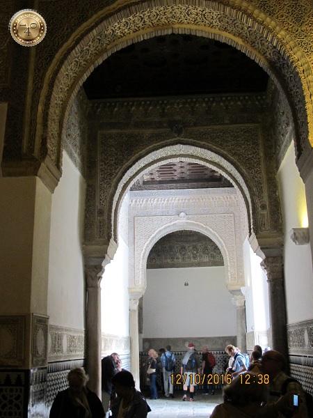 стрельчатые арки в Алькасаре в Севилье