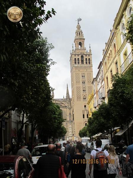 башня Кафедрального собора в Севилье