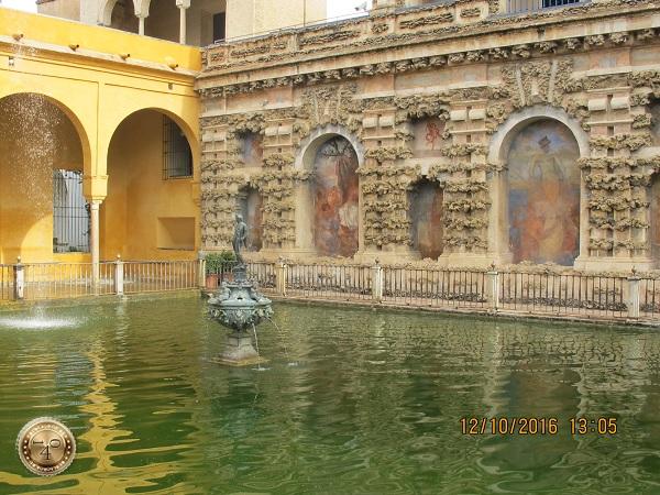 бассейн в Алькасаре