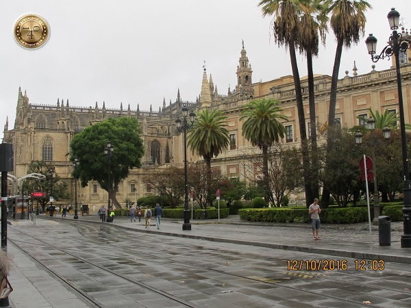 королевский дворец в Севилье