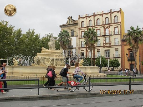 фонтан Севилья в Севилье
