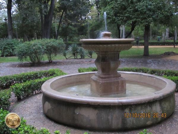 фонтан в парке Марии Луизы