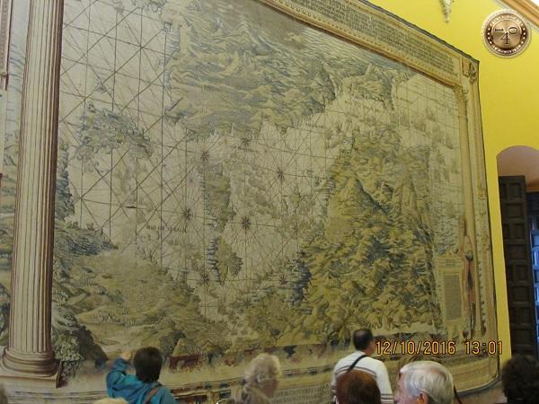 зал с гобеленами в Альксаре в Севилье