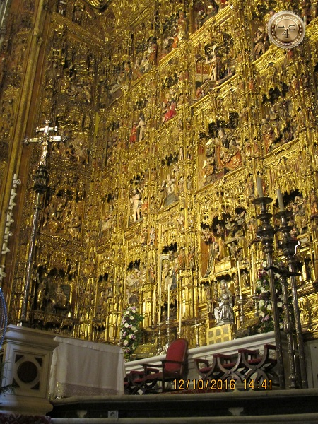 иконостас Кафедрального собора в Севилье