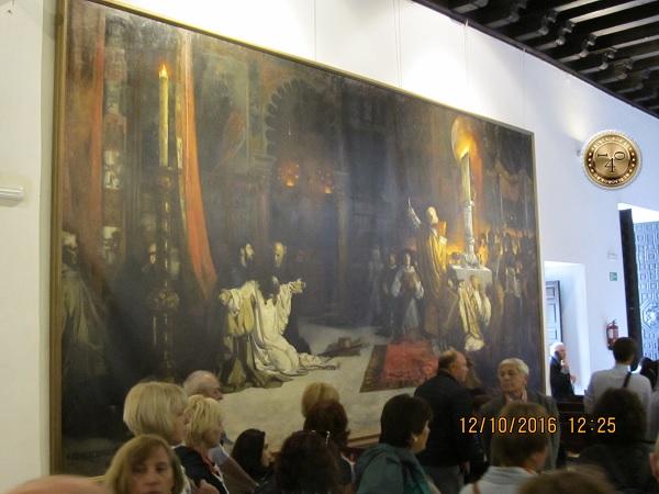 картинный зал в Алькасаре в Севилье