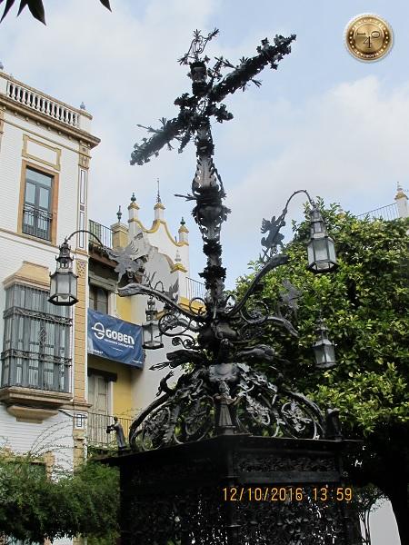 площадь Креста в Севилье
