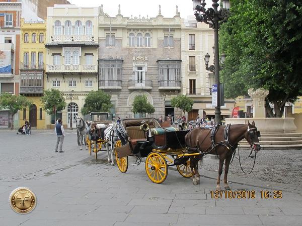 лошади в Севилье