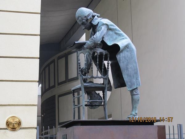 памятник Моцарту в Севилье