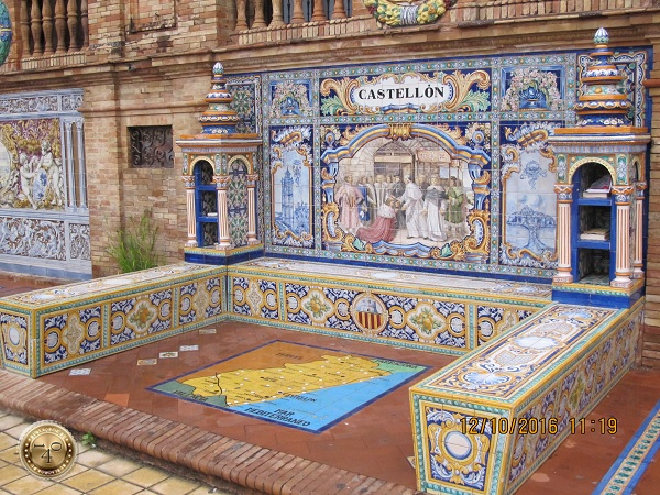 ниша Кастилии на площади Испании