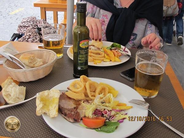 Обед в Севилье