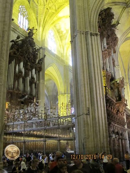 орган Кафедрального собора в Севилье