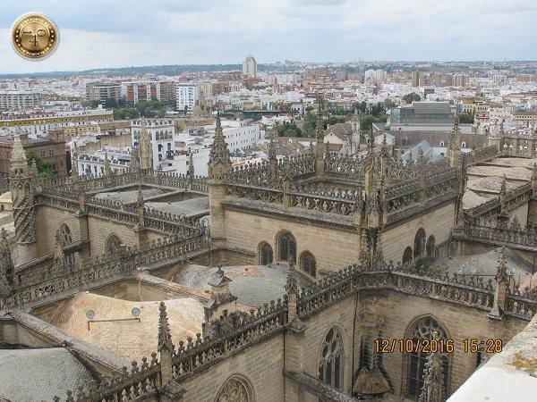 вид на Кафедральный собор сверху