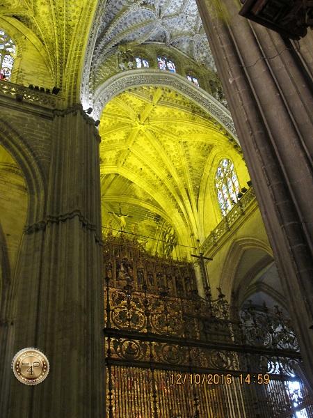 решетка Кафедрального собора в Севилье