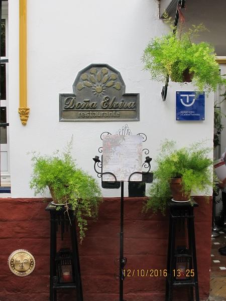 ресторан Донья Эльвира