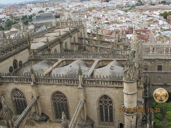 Севилья с высоты Кафедрального собора