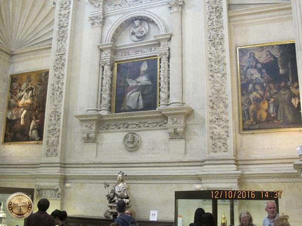 три картины из Кафедрального собора в Севилье
