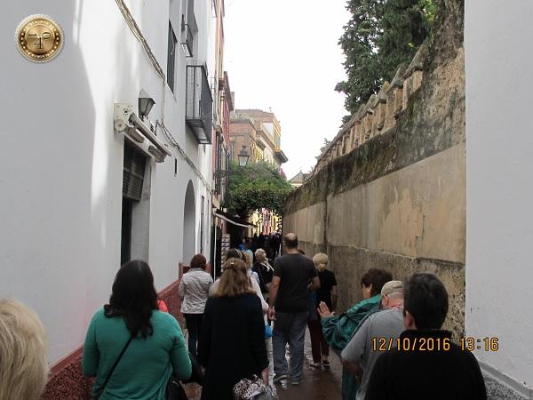 уходим из Алькасара в еврейский квартал