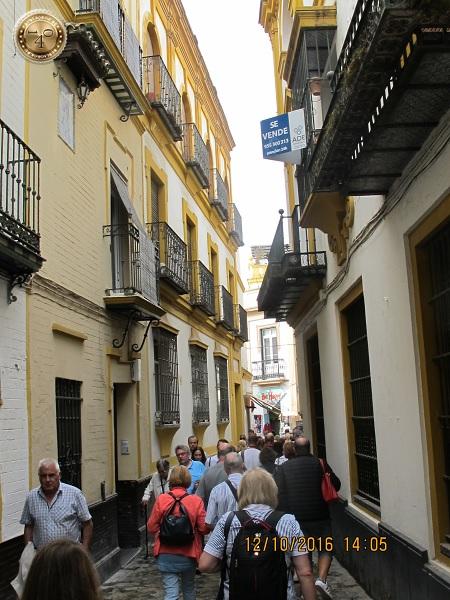 улочка Севильи