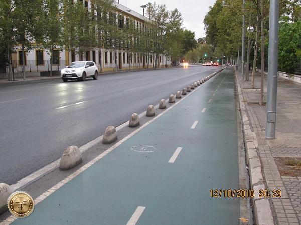 велодорожка в Севилье