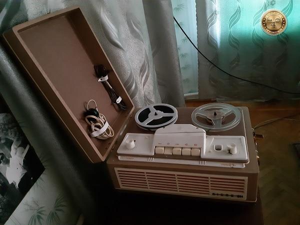 мой первый магнитофон