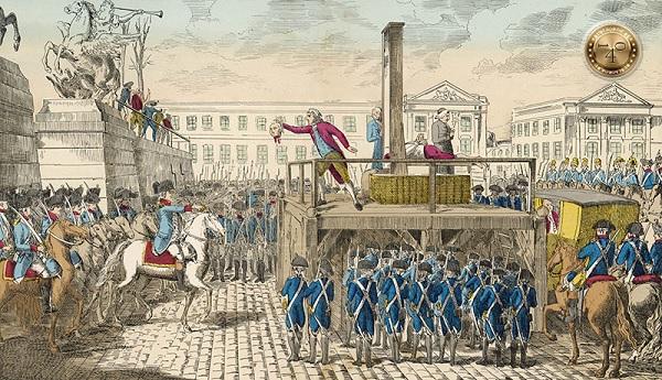 казнь на гильотине