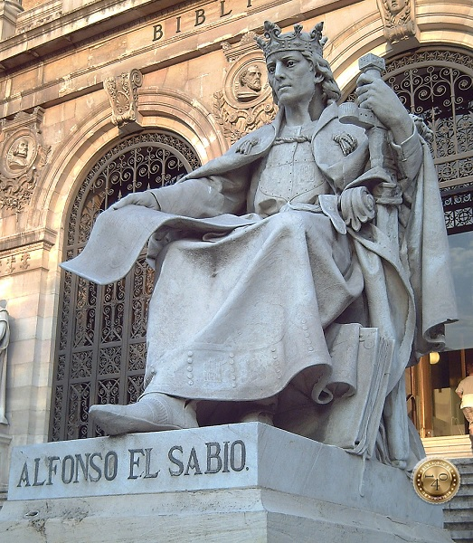 Король Альфонсо X Мудрый