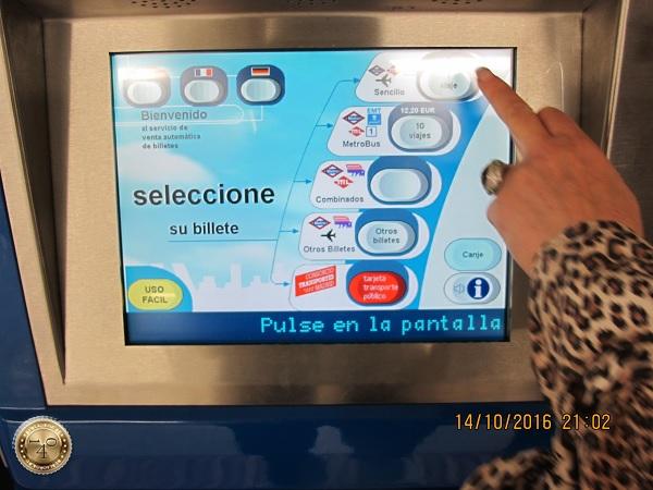 Автомат в метро