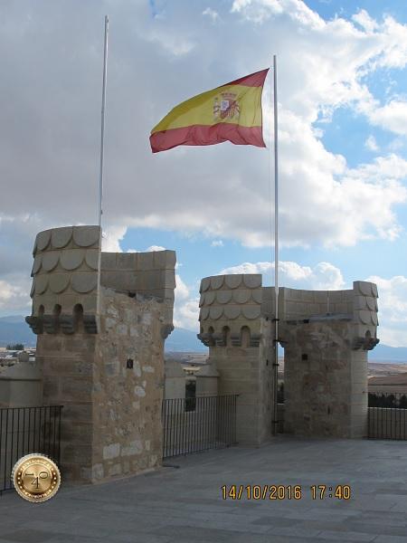 Флаг на башне