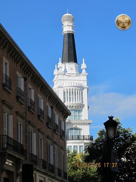 Колокольня в Мадриде