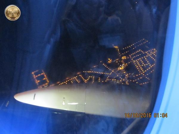 Мадрид. Вид из самолёта