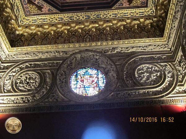 Потолок Тронного зала