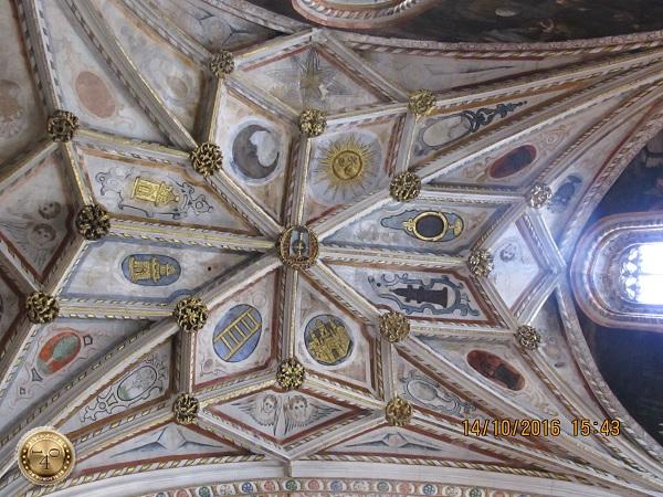Потолок Кафедрального собора в Сеговии