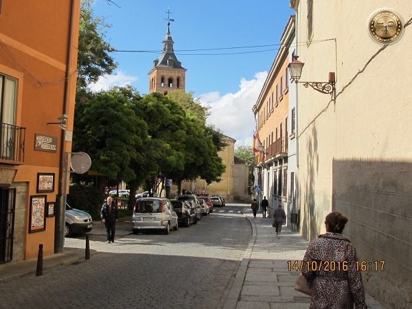 Путь от собора до Алькасара