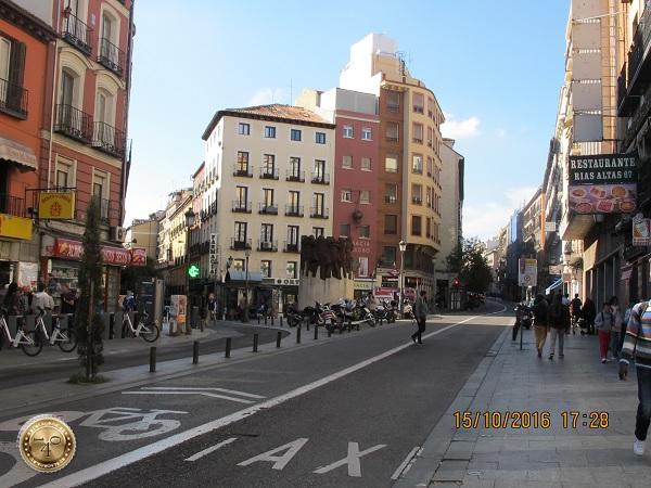 Развилка в Мадриде