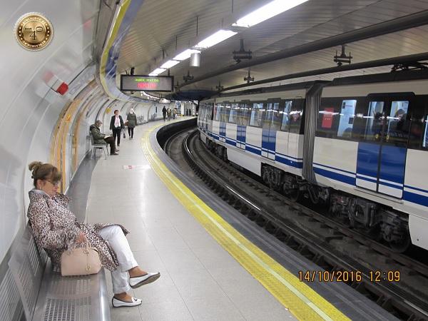 Станция мадридского метро