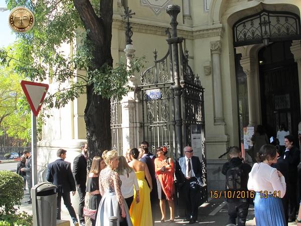 Свадьба в Мадриде