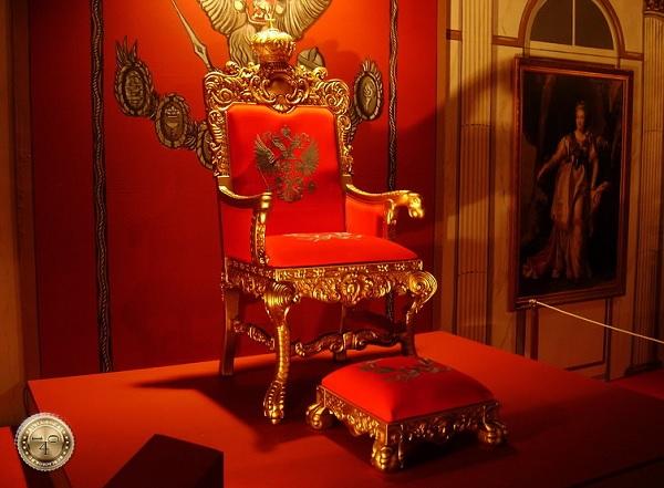 Трон Российского императора