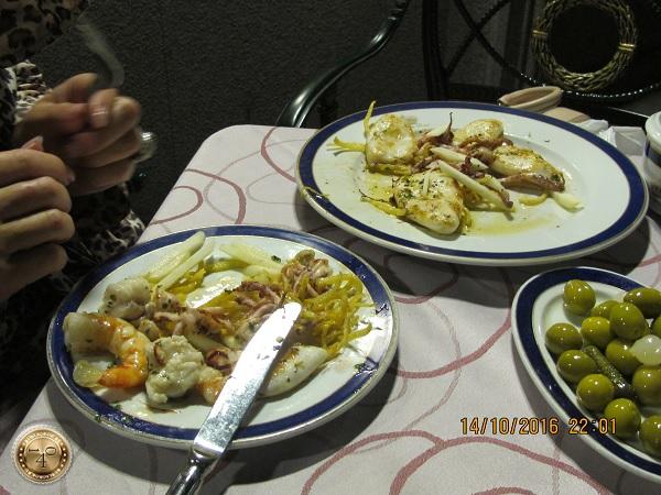 Ужин в Мадриде