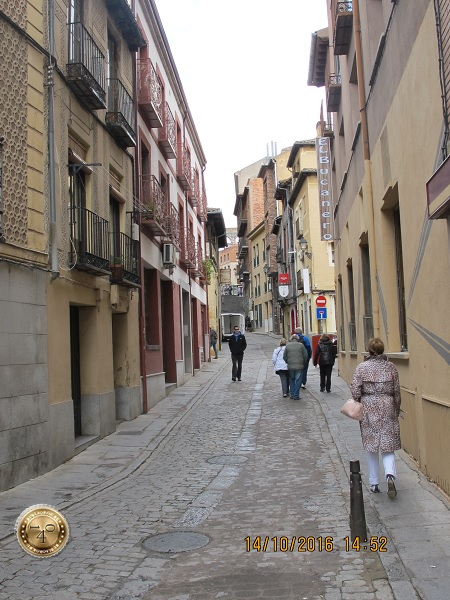 Прогулка по улочкам Сеговии
