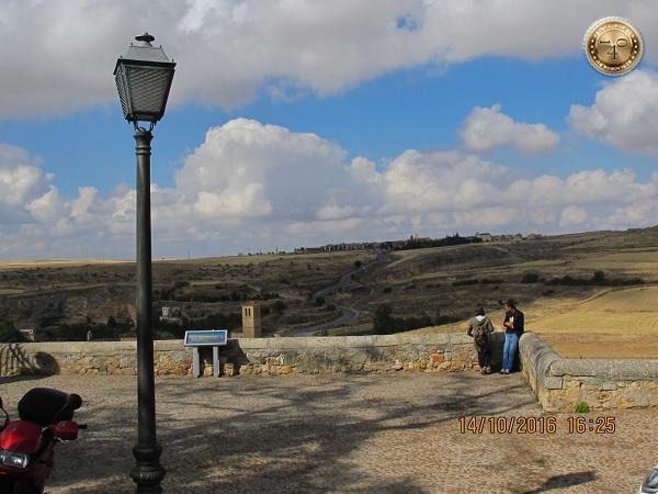 "Вид на окрестности замка ""Алькасар"""